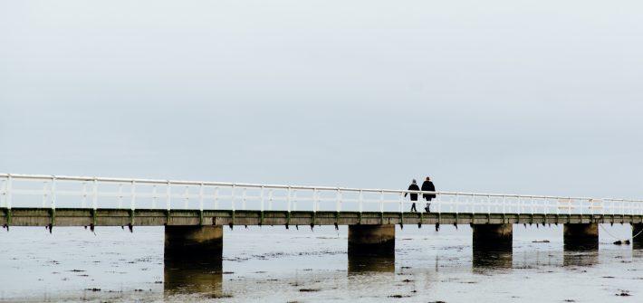 Brygga vid Ribban i Malmo